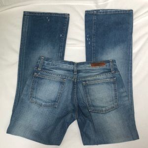 Ralph Polo The GIVE Jeans Flared Distressed